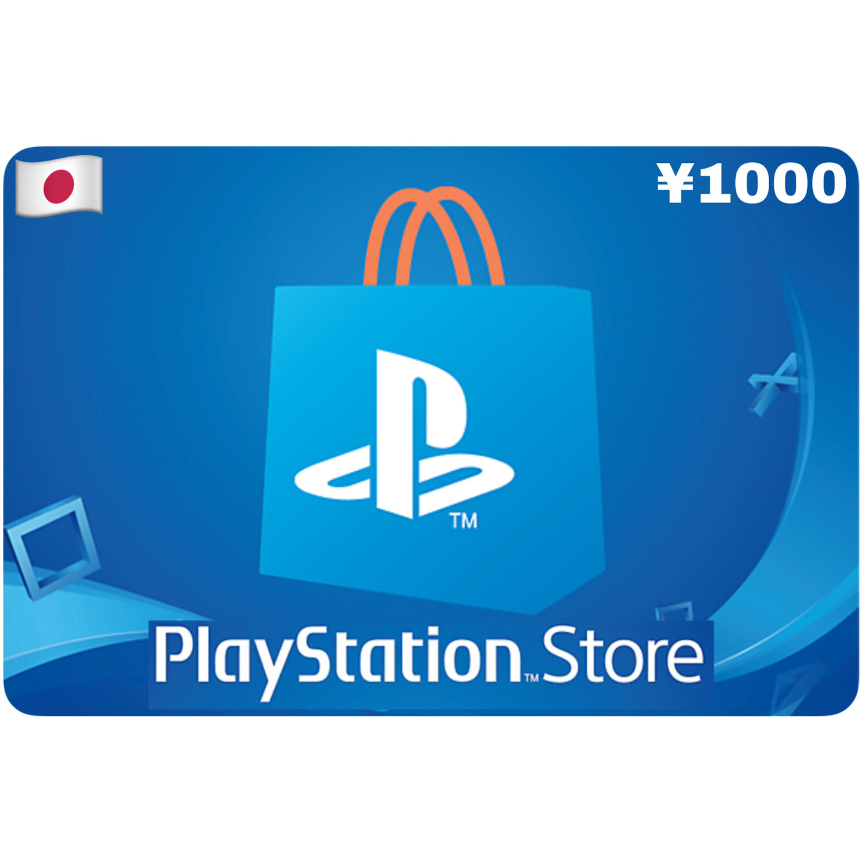 Playstation Store Gift Card Japan ¥1000