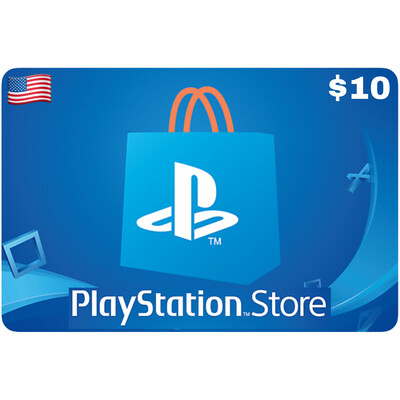 Playstation Store Gift Card US $10