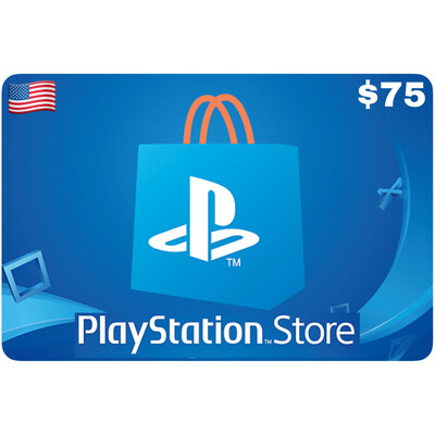 Playstation Store Gift Card US $75