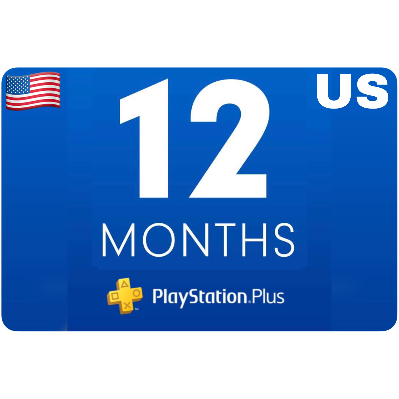 Playstation Plus Membership US 12 Month