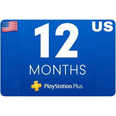 Playstation Plus Membership US 12 Month