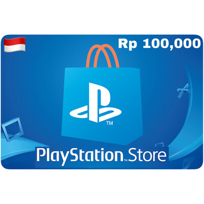 Playstation Store Gift Card Indonesia IDR 100,000