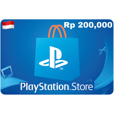 Playstation Store Gift Card Indonesia IDR 200,000