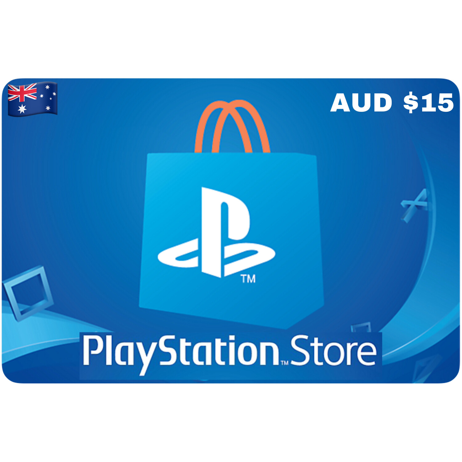 Playstation Store Gift Card Australia AUD $15