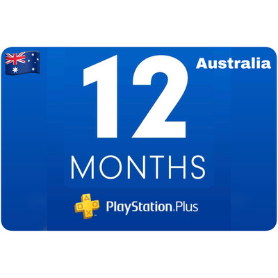 Playstation Plus Membership Australia 12 Month