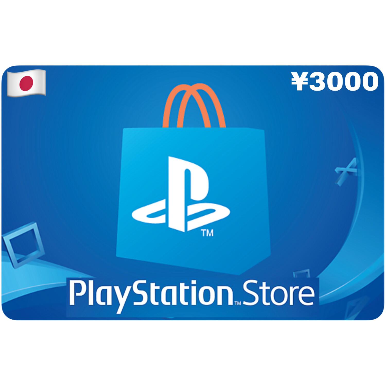 Playstation Store Gift Card Japan ¥3000