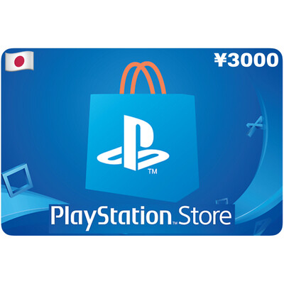 Playstation Store Gift Card Japan ¥3000