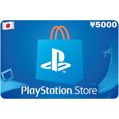 Playstation Store Gift Card Japan ¥5000