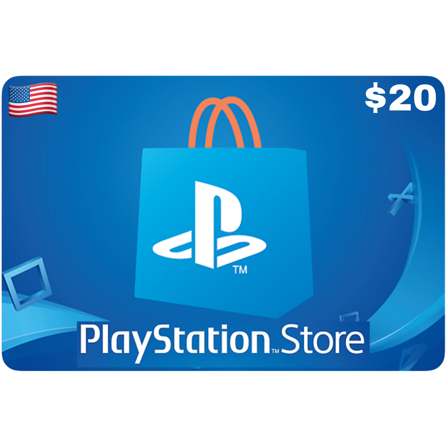 Playstation Store Gift Card US $20