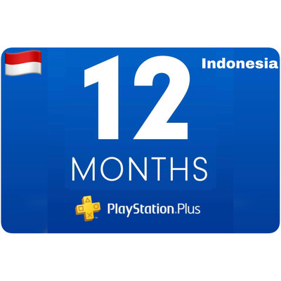 Playstation Plus Membership Indonesia 12 Bulan