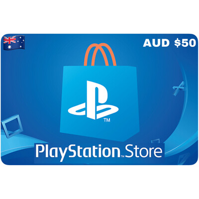 Playstation Store Gift Card Australia AUD $50