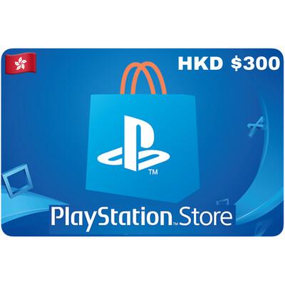 Playstation Store Gift Card Hongkong HKD $300