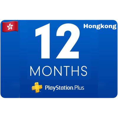 Playstation Plus Membership Hongkong 12 Month