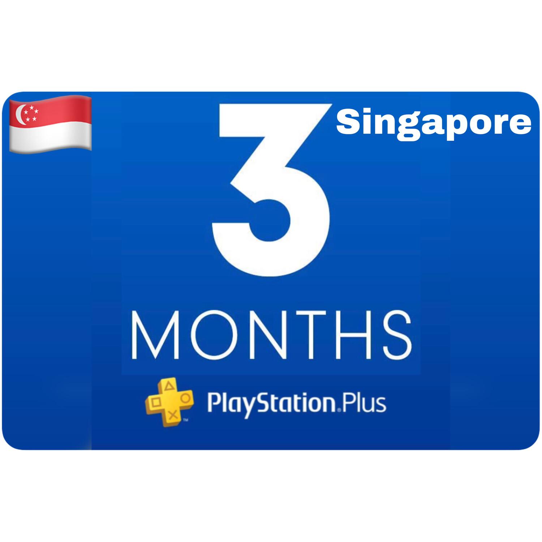 Playstation Plus Membership Singapore 3 Month