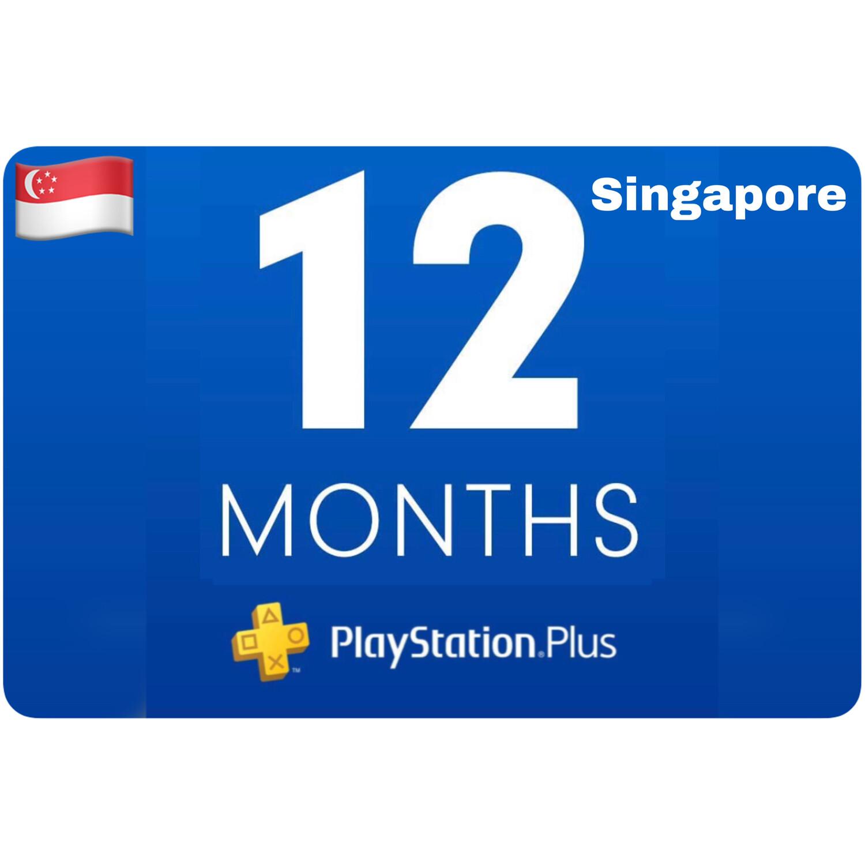 Playstation Plus Membership Singapore 12 Month