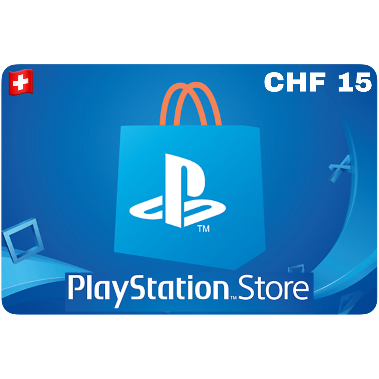 Playstation Store Gift Card Switzerland CHF 15