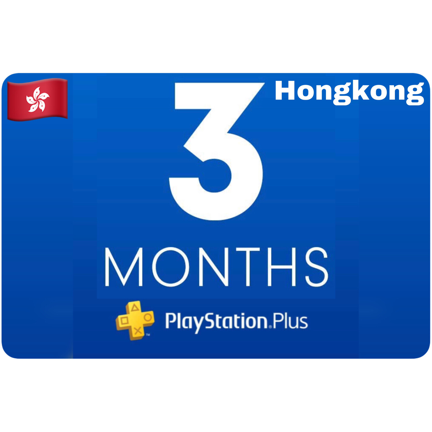 Playstation Plus Membership Hongkong 3 Month