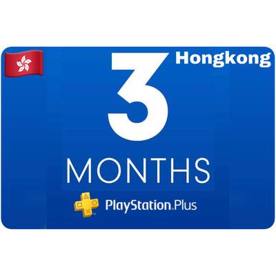 Playstation Plus Membership Hongkong 3 Month