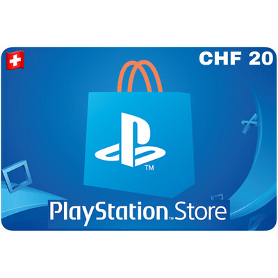 Playstation Store Gift Card Switzerland CHF 20