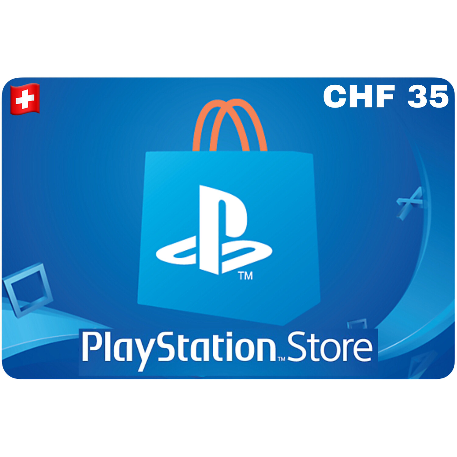 Playstation Store Gift Card Switzerland CHF 35