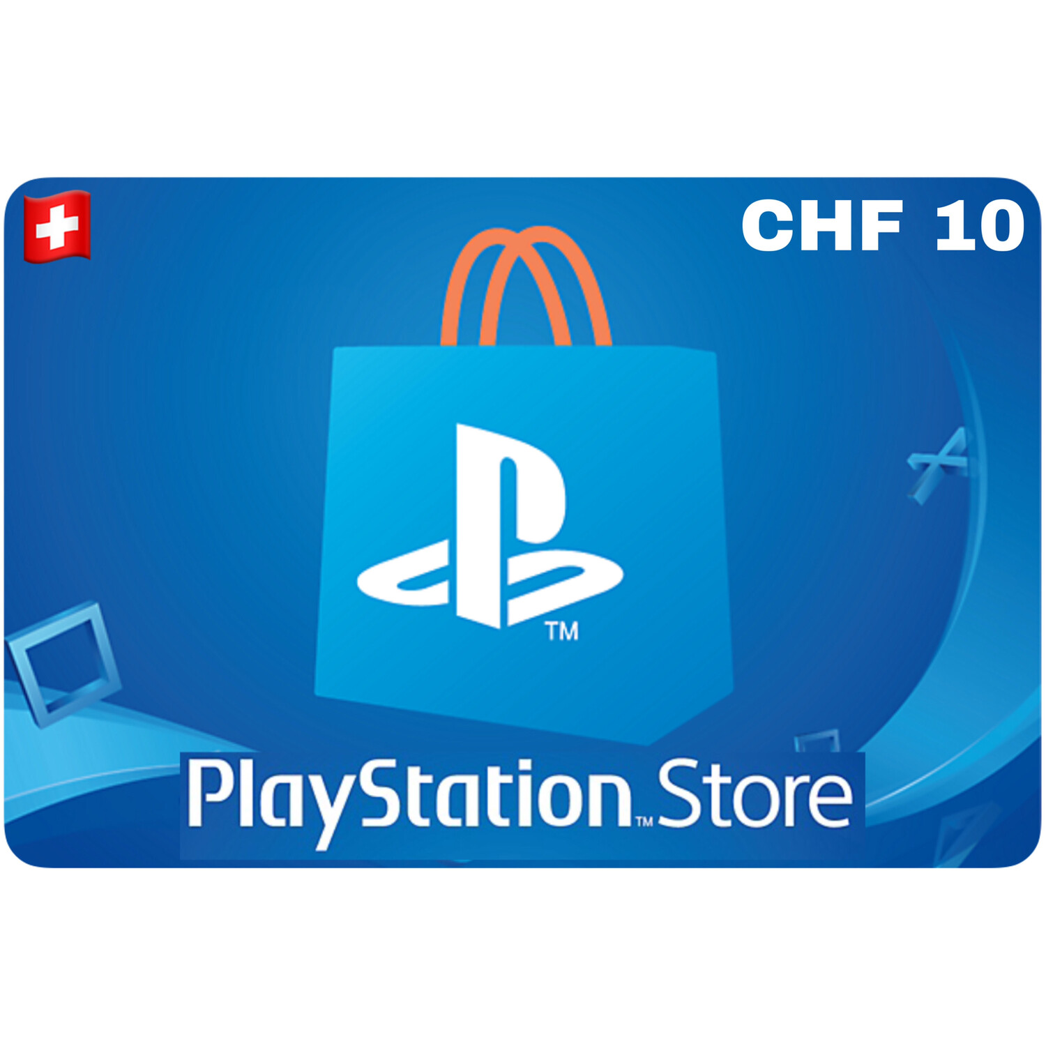 Playstation Store Gift Card Switzerland CHF 10