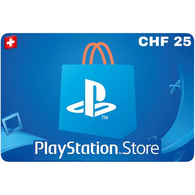 Playstation Store Gift Card Switzerland CHF 25