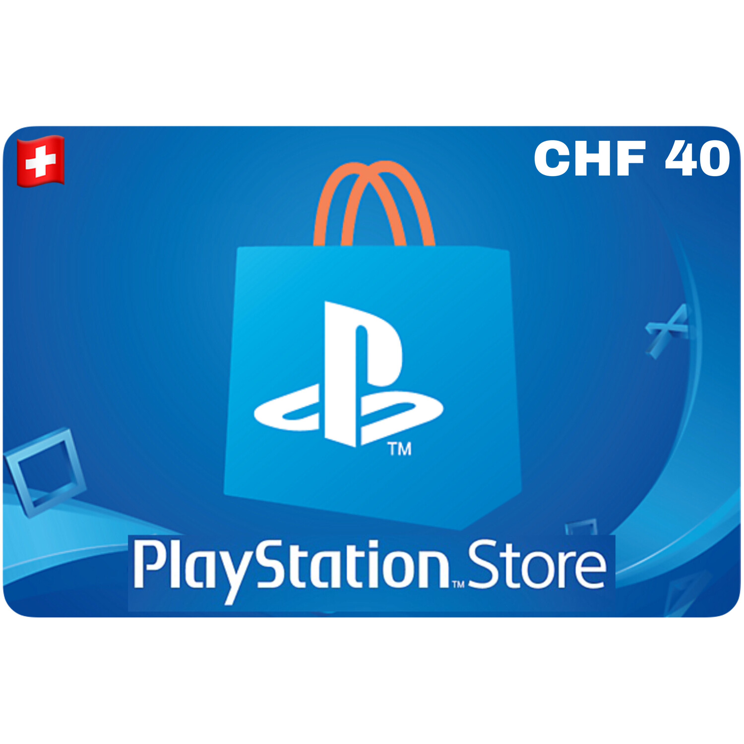 Playstation Store Gift Card Switzerland CHF 40