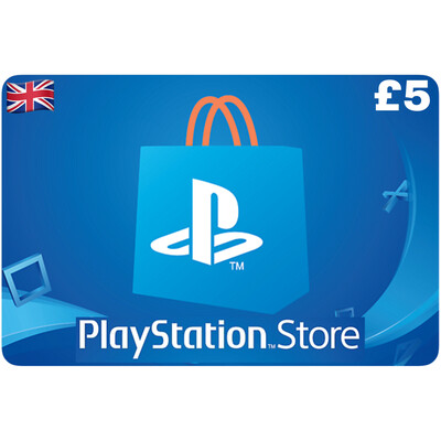 Playstation Store Gift Card UK £5