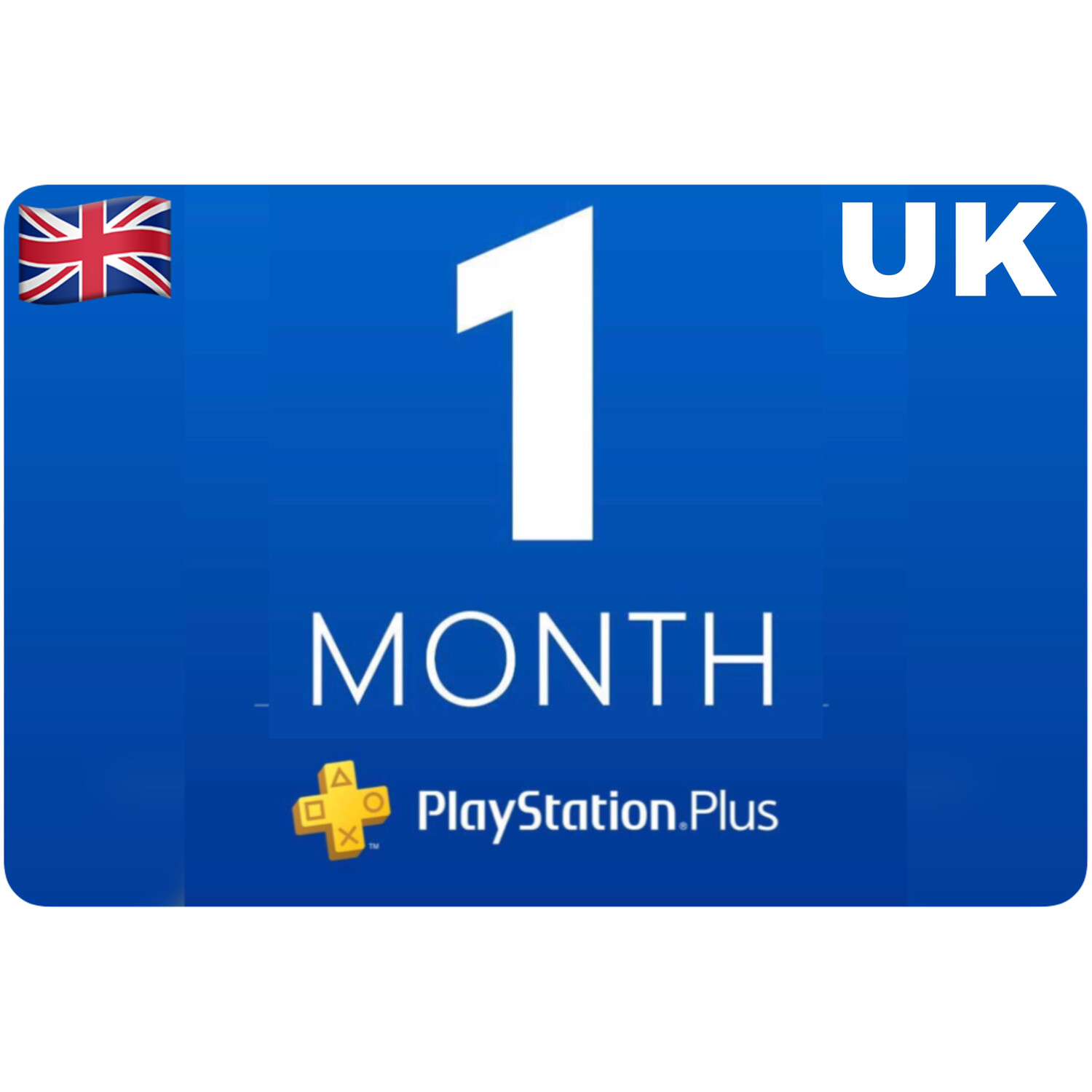 Playstation Plus Membership UK 1 Month