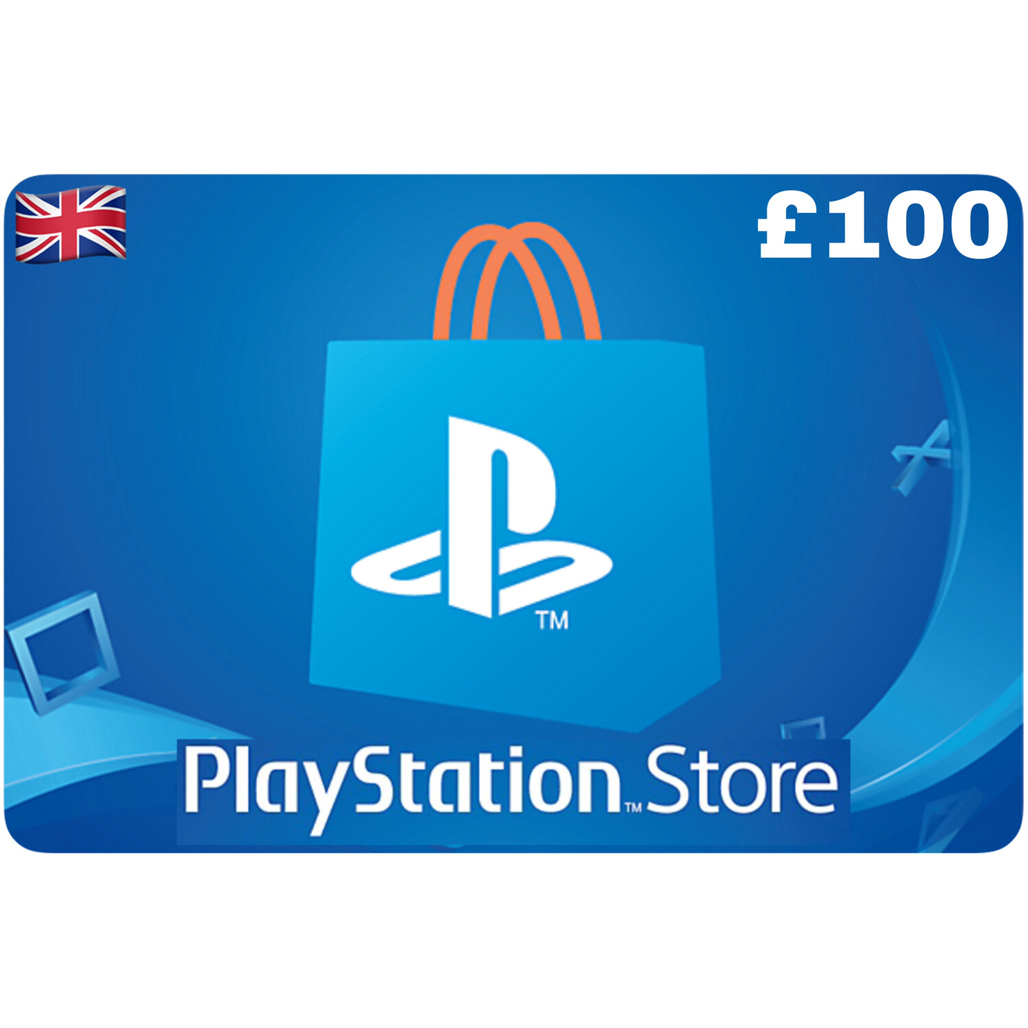 Playstation Store Gift Card UK £100