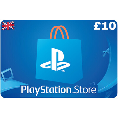 Playstation Store Gift Card UK £10