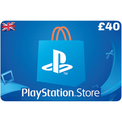 Playstation Store Gift Card UK £40