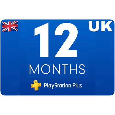 Playstation Plus Membership UK 12 Month