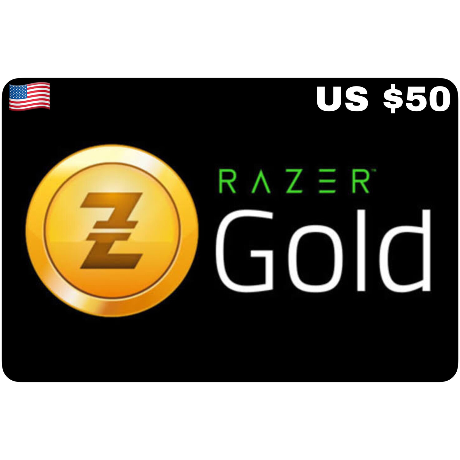 Razer Gold Pin US $50