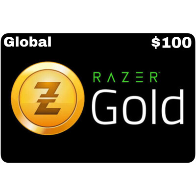 Razer Gold Pin $100 Global
