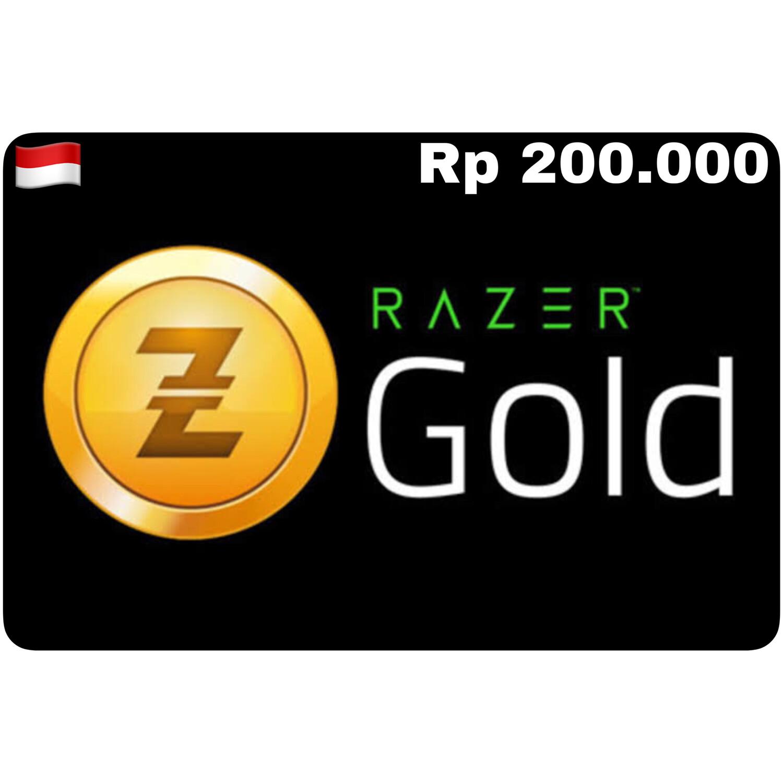 Razer Gold Pin ID Rp 200.000