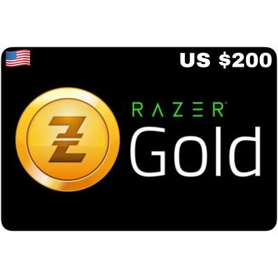 Razer Gold Pin US $200