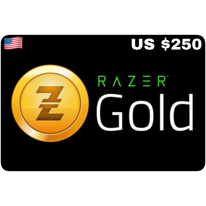 Razer Gold Pin US $250