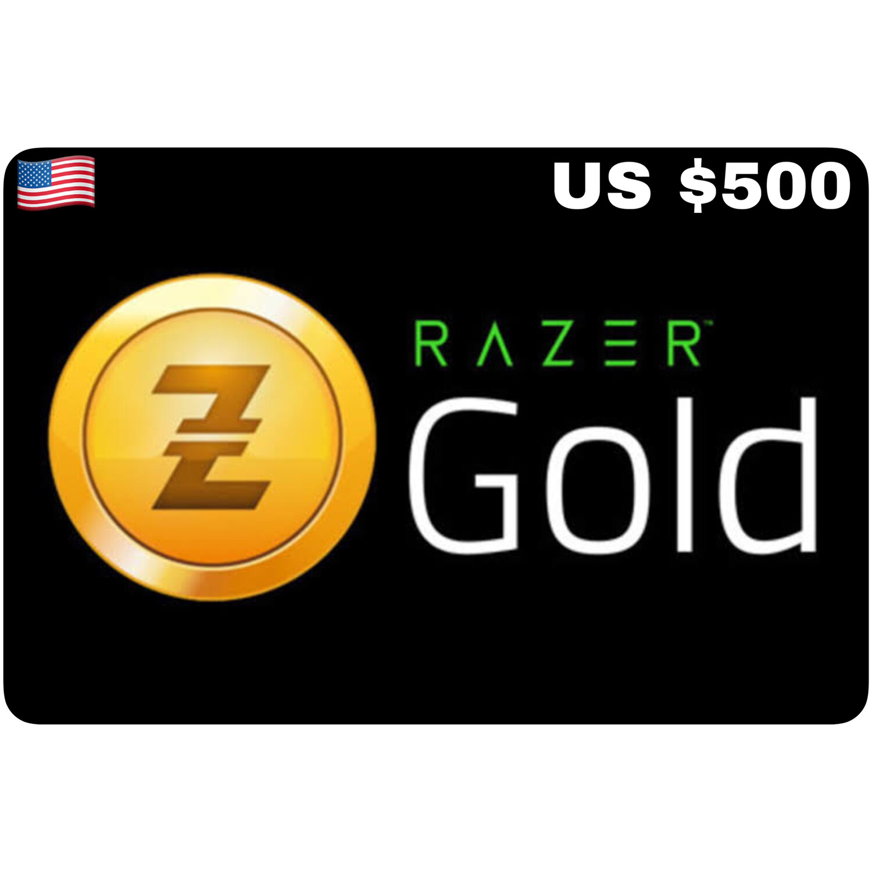 Razer Gold Pin US $500