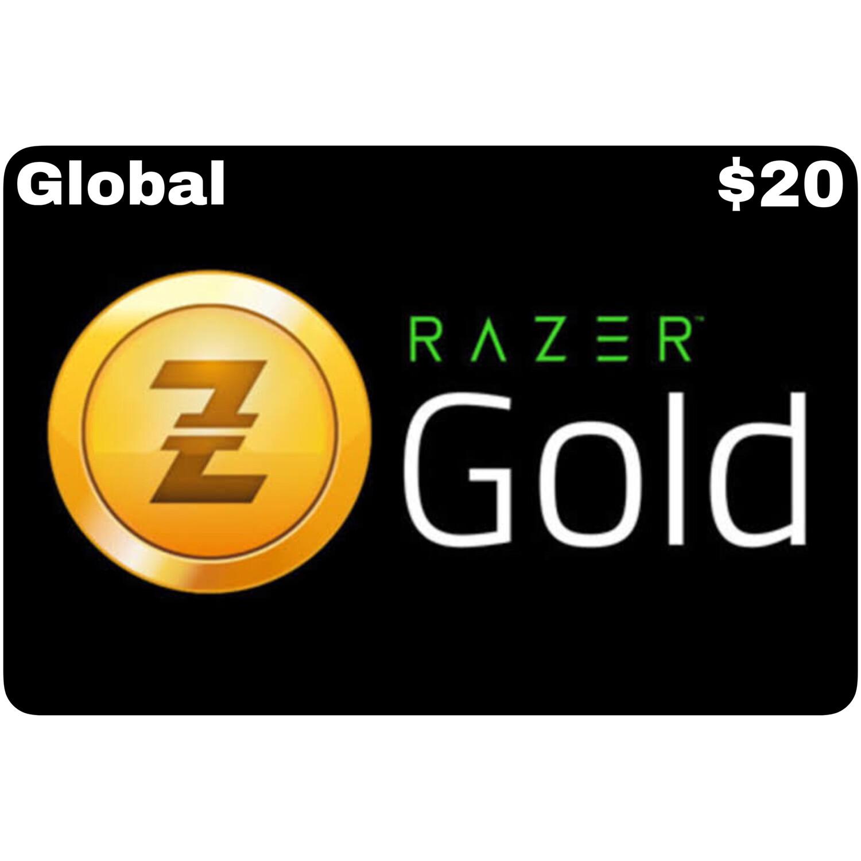 Razer Gold Pin $20 Global