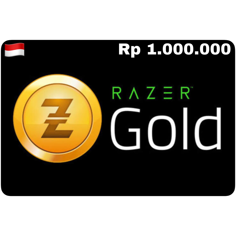 Razer Gold Pin ID Rp 1.000.000
