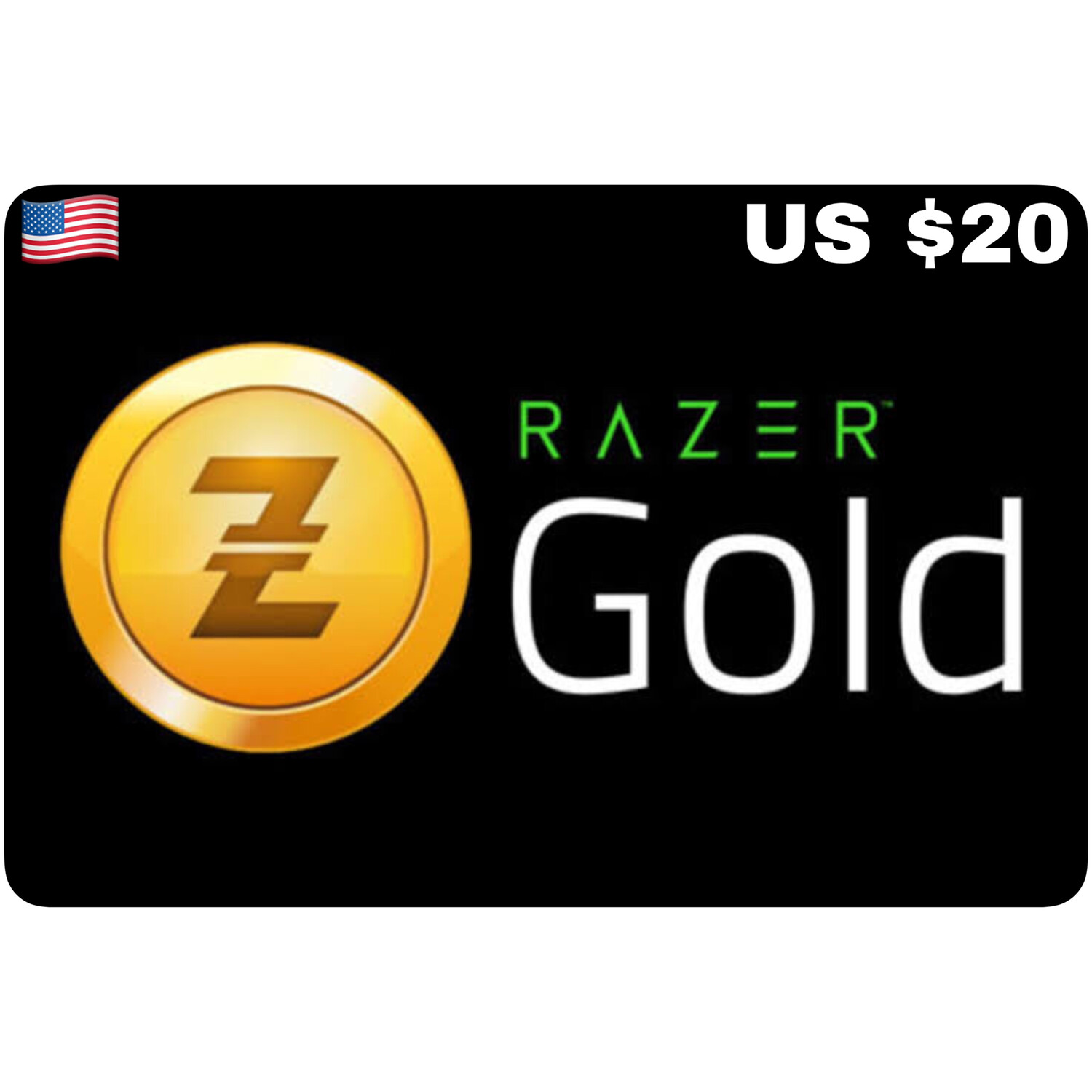 Razer Gold Pin US $20