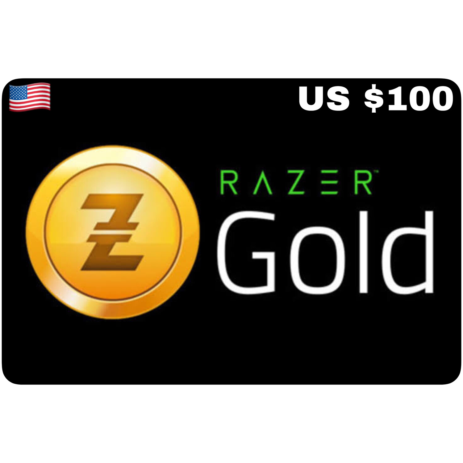 Razer Gold Pin US $100