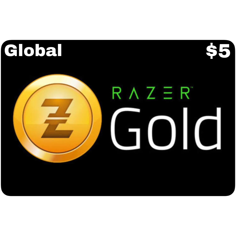 Razer Gold Pin $5 Global