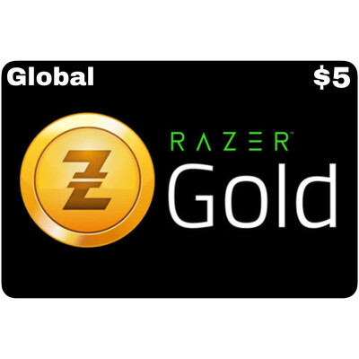 Razer Gold Pin $5 Global