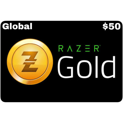 Razer Gold Pin $50 Global