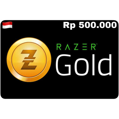 Razer Gold Pin ID Rp 500.000