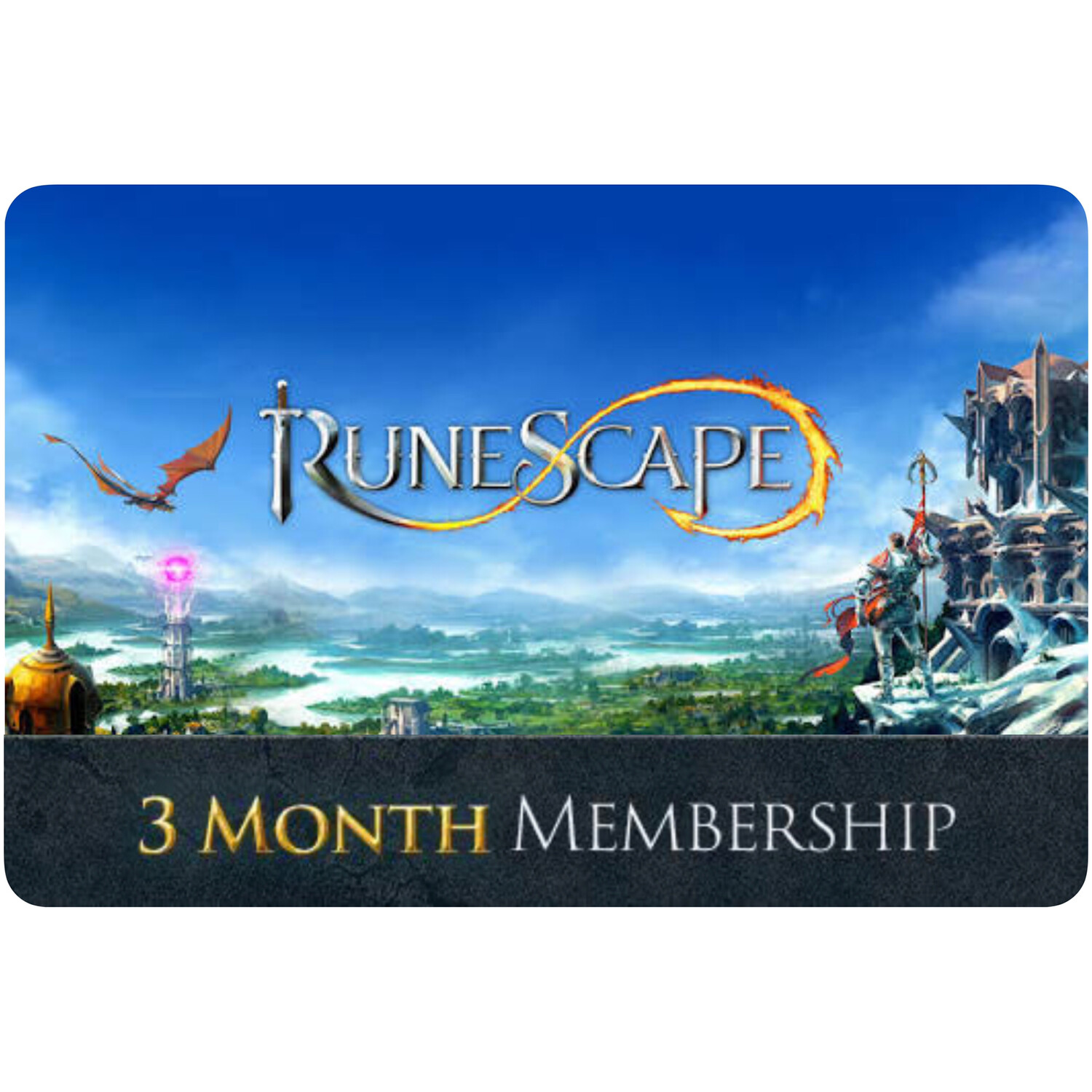 Runescape Membership 90 Day (3 Month)