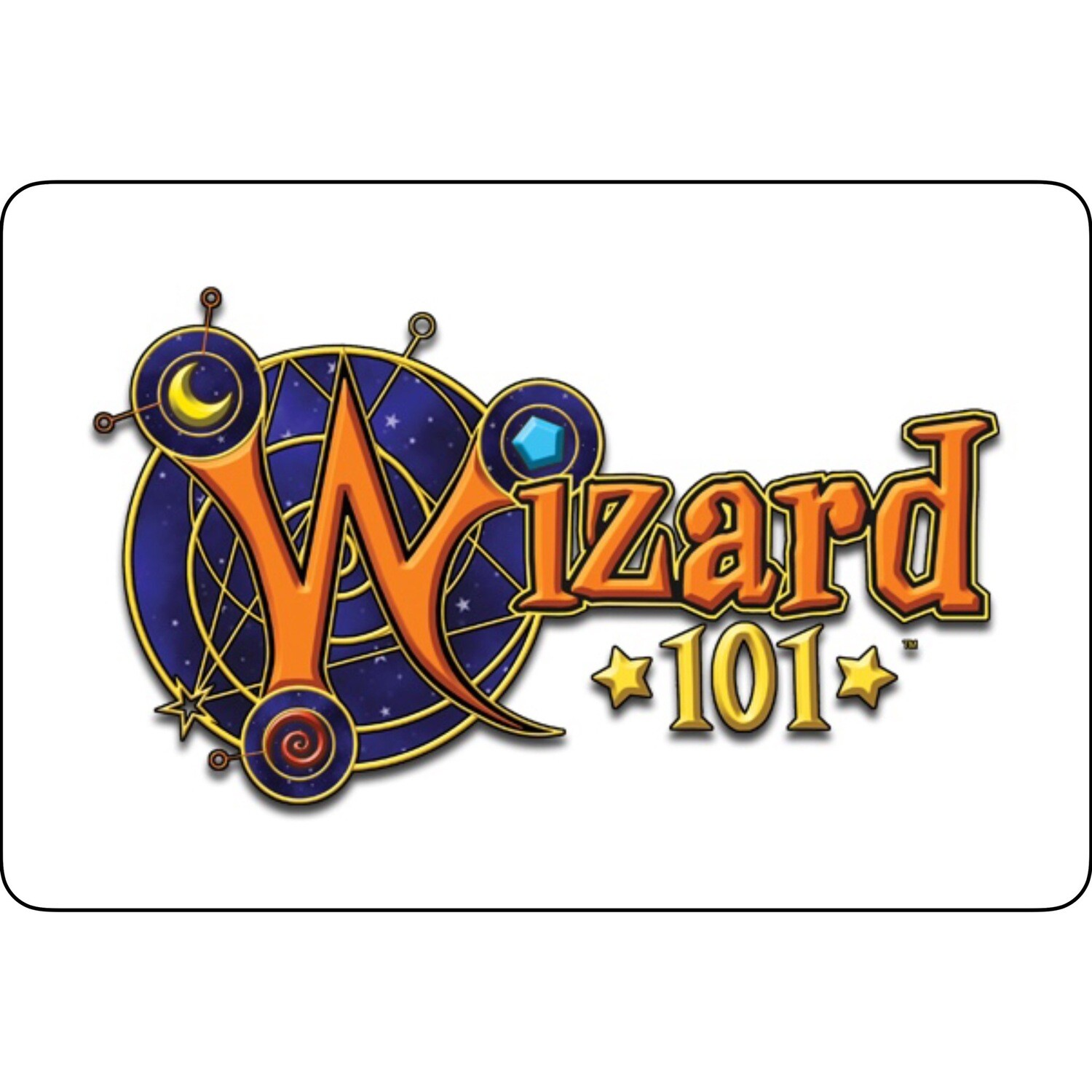 Wizard101 Game Card