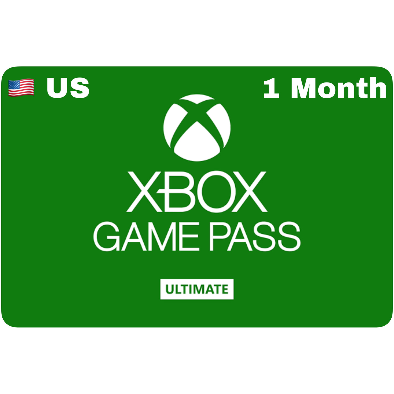 Xbox Game Pass 1 Month Ultimate US